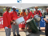 "Legendary ""Panman Pat"" Steelpan music and shows."