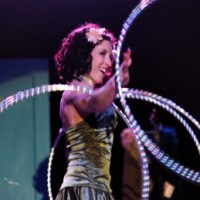Kristen Leophard - Hoop Dancer in ,