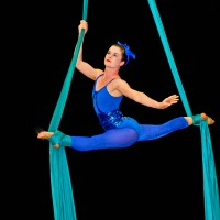 Infinity Circus Productions - Fire Dancer in Brownsville, Texas