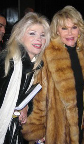 Linda and Joan Rivers
