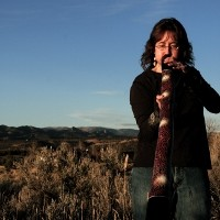 Lisa Byrne - Didgeridoo Player in Durango, Colorado