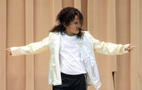 Little Michael Jackson impersonator