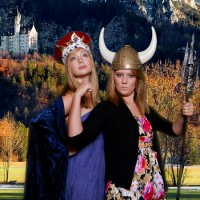 Memphis Green Screen Photo Booth & Event Photography - Princess Party in Natchez, Mississippi