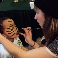 Living Canvas - Face Painter in Ashland, Oregon