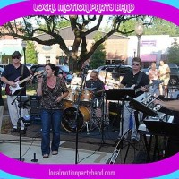 LOCAL MOTION PARTY BAND - Beach Music in Charleston, South Carolina