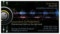Locomotion DJ Productions - Wedding DJ in Nashua, New Hampshire