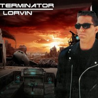 Lorvin as Arnold - Arnold Schwarzenegger Impersonator in ,