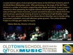 Old Town School of Folk Music Concert
