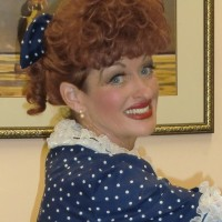 Lucille Ball, I LoveLucy! Impersonator - Look-Alike in North Fort Myers, Florida