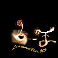 Luminous Flux - Fire Dancer in Fort Worth, Texas