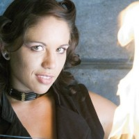 Luna Del Fuego - Fire Eater in Cupertino, California