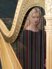 Macon Harpist, Calista Anne Waddy