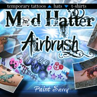 MadHatter Airbrush - Airbrush Artist in Raleigh, North Carolina