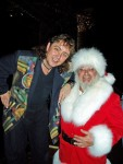 Magic Santa Claus with magician and mentor Jeff McBride