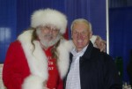 Magic Santa Claus with County Supervisor Ron Roberts