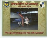 BBC donates aMagicShow to Spangdahlem air base in Germany, 2001