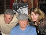 Dan and Ginny Mindo with Movie Star Tony Curtis