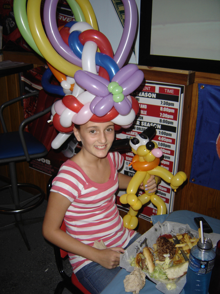Greg Suarez Balloon Hat