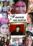 MagiKidz face paint collage