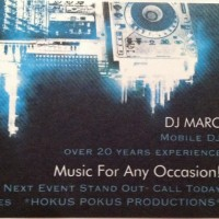 Marc The DJ - Sound Technician in Greenwich, Connecticut