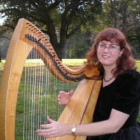 Margaret Davis - Harpist in Davis, California