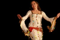 Margo Im-Hananne bellydance performer/instructor