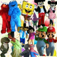 Marias Party Characters - Costume Rentals in ,
