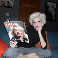 Marilyn Monroe Artist; Pamela Jean - Female Model in South Elgin, Illinois