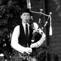 Marshall German Professional Bagpipe Musician - Bagpiper in Huntington Beach, California