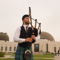 Max Gillespie - Bagpiper in Venice, California