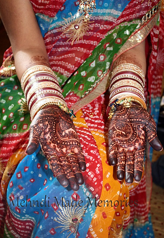 Bridal henna