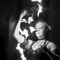 Memory Elena - Fire Performer in San Jose, California