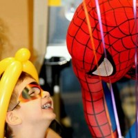 Metro Mascots - Super Hero Party in Waynesboro, Virginia