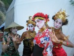 Asian Fusion Dancers and Stilters
