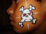 Skull Face Painting