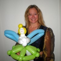 Michele Peterson, Balloon Artist and Face Painter - Clown in Orlando, Florida