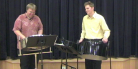Mike and Colin - Steel Drum Band in Chester, Pennsylvania