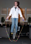 Jump Rope'n on the Unicycle!