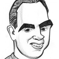 Mike Tofanelli Caricature - Caricaturist in Modesto, California
