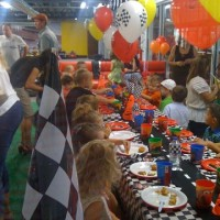 Mini Motor Speedway - Venue / Super Hero Party in Southlake, Texas