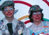 MisMatch & YooHoo the Magical Clowns - Magic in Plainview, New York