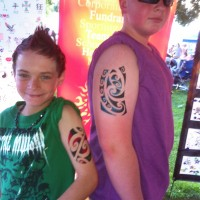 Mister & Misses Twister - Temporary Tattoo Artist in Redding, California