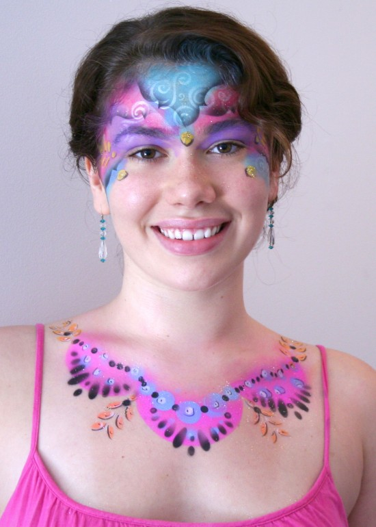 Airbrush Eye and Body Art
