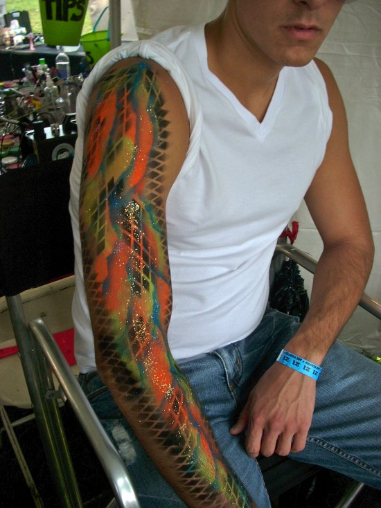 Airbrush Body Art