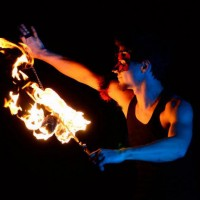 Mogli Nova - Fire Dancer in Memphis, Tennessee