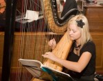 Harp in Church