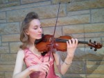 Joanna our fiddler/classical violinist