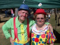 Mr and Mrs Glory Clown
