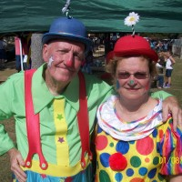 Mr and Mrs Glory Clown - Balloon Twister in Slidell, Louisiana