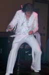Elvis in Fringe Suit